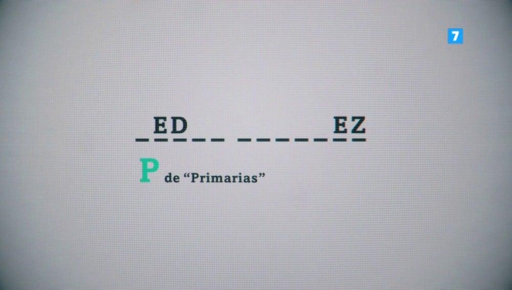 Frame 1.23059 de: 'P' de 'primarias', 'N de 'no es no'… Pedro Sánchez, el domingo en Salvados