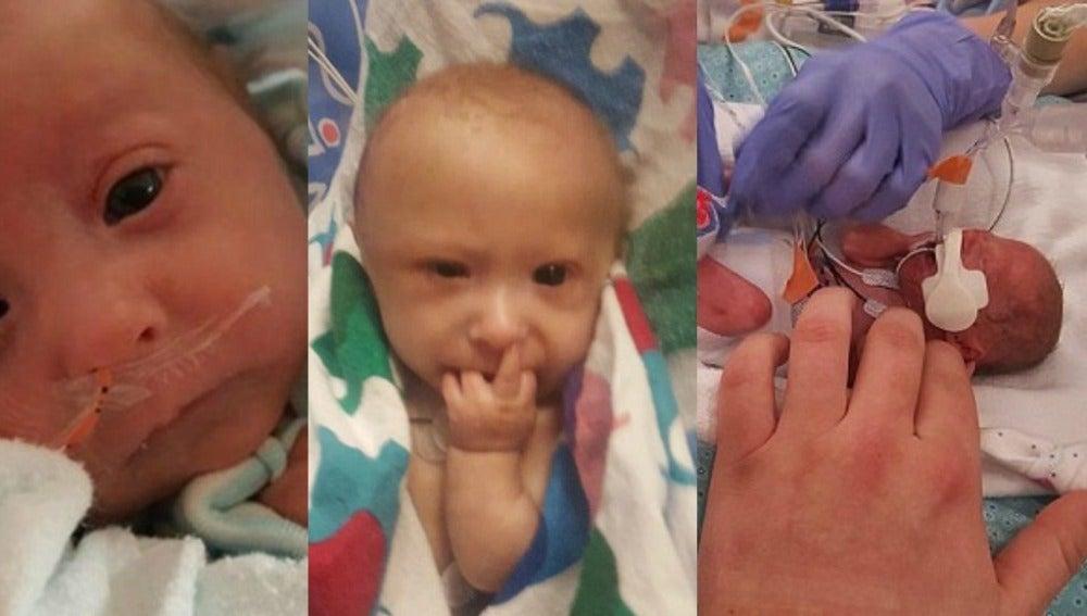 Imágenes del pequeño Matthew
