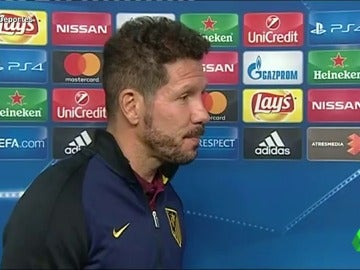 """Frame 0.0 de: Simeone: """"No me molesta nada, ni que digan que jugamos bien ahora"""""""