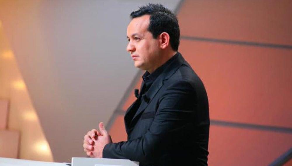 El presentador tunecino Alaa Chebbi