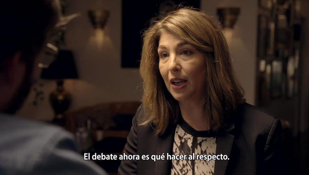 Jordi Évole entrevista a Naomi Klein