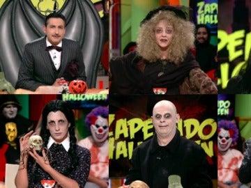 """La familia de Zapeando, """"poseída por la familia Addams"""""""