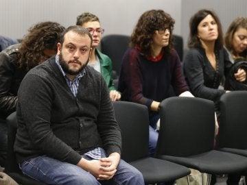 El concejal de Ahora Madrid Guillermo Zapata