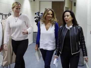 Zaida Cantera, Susana Sumelzo y Margarita Robles