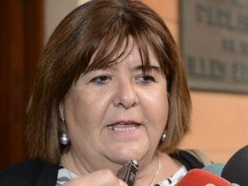 Xelo Huertas, presidenta del Parlamento balear