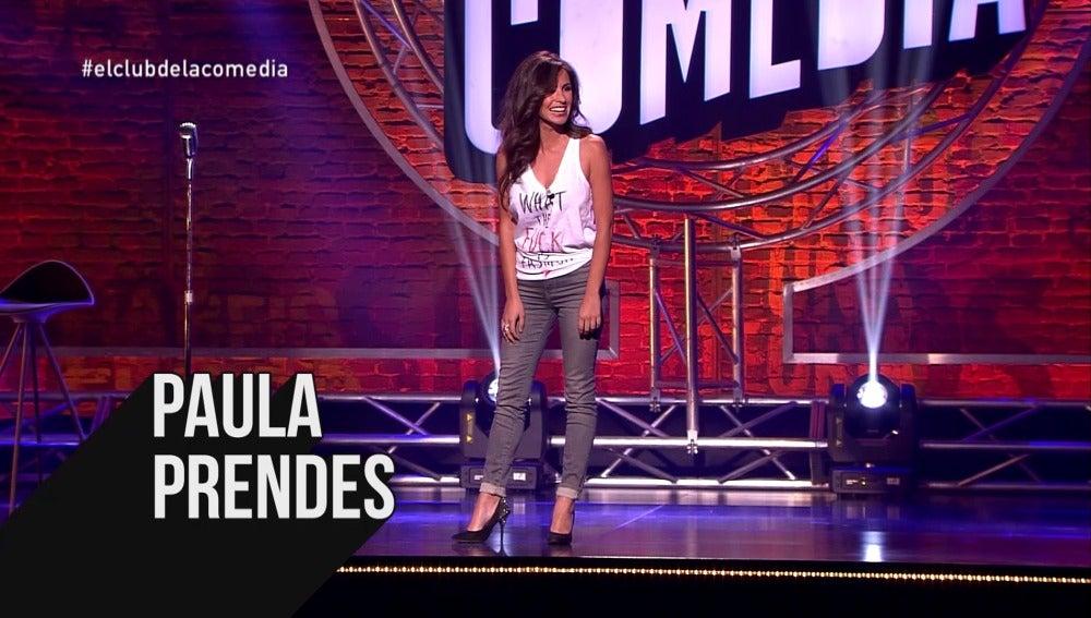 Paula Prendes en El Club de la Comedia