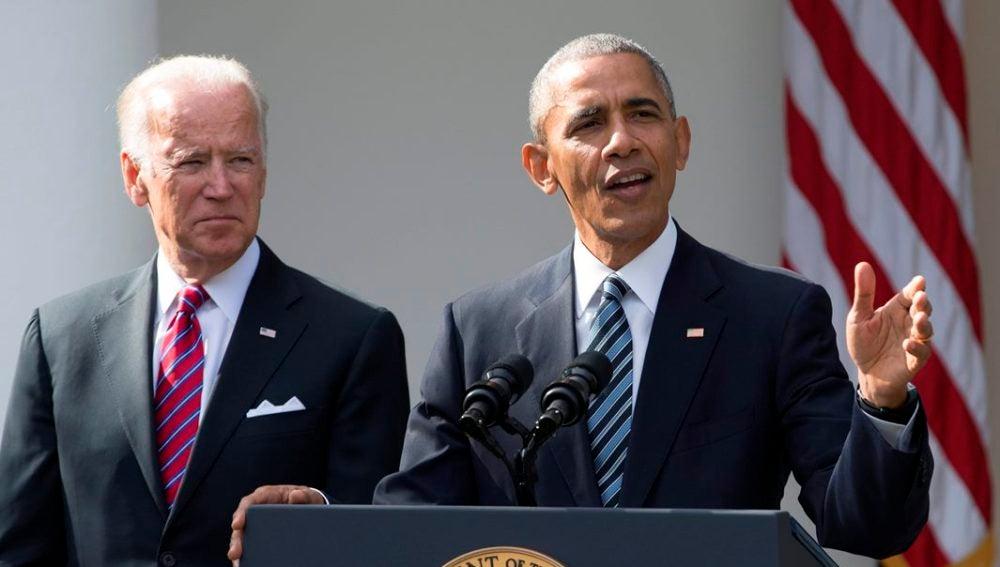 Barack Obama en su primer discurso tras el triunfo de Trump