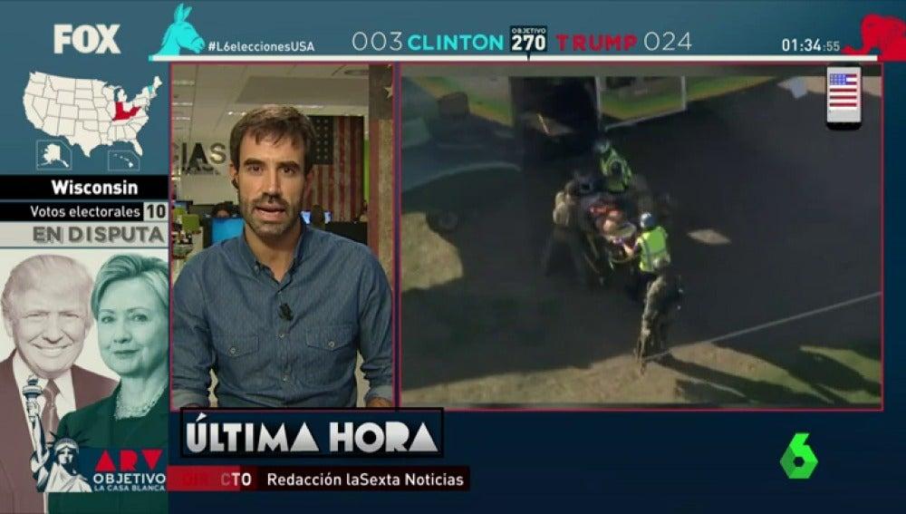 Frame 17.02862 de: Un tiroteo cerca de un colegio electoral en California deja al menos un muerto y varios heridos