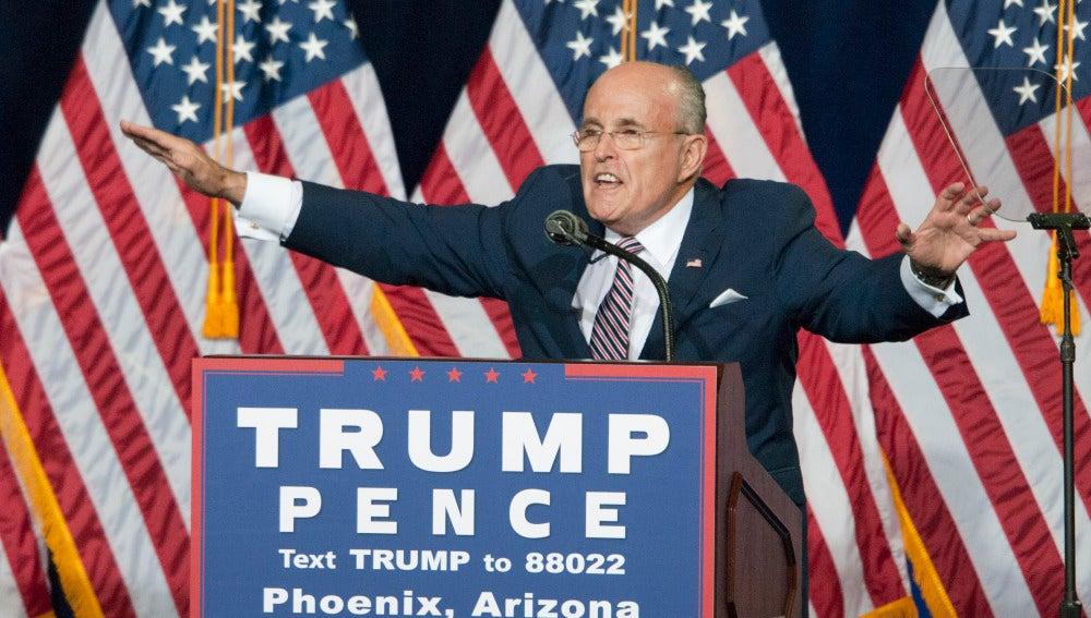 Giuliani, exalcalde de Nueva York