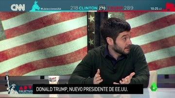 Frame 13.82092 de: El tremendo 'zasca' de Pablo Bustinduy a Miguel Gutiérrez a raíz del 'voto popular' de EEUU