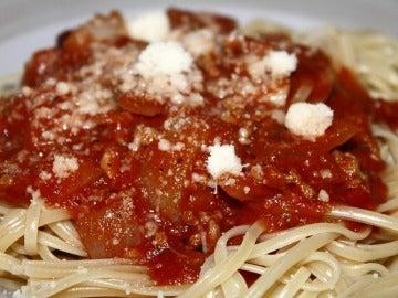 Yo quiero pasta, pasta. Yo quiero pasta, pasta. Tú quieres, ¡pasta!