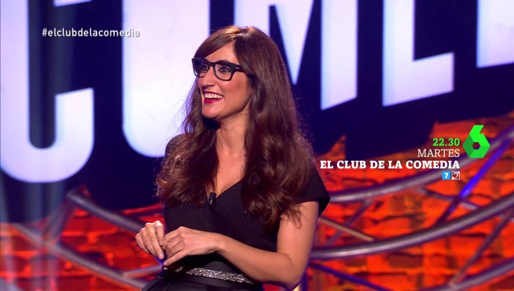Ana Morgade, en El Club de la Comedia
