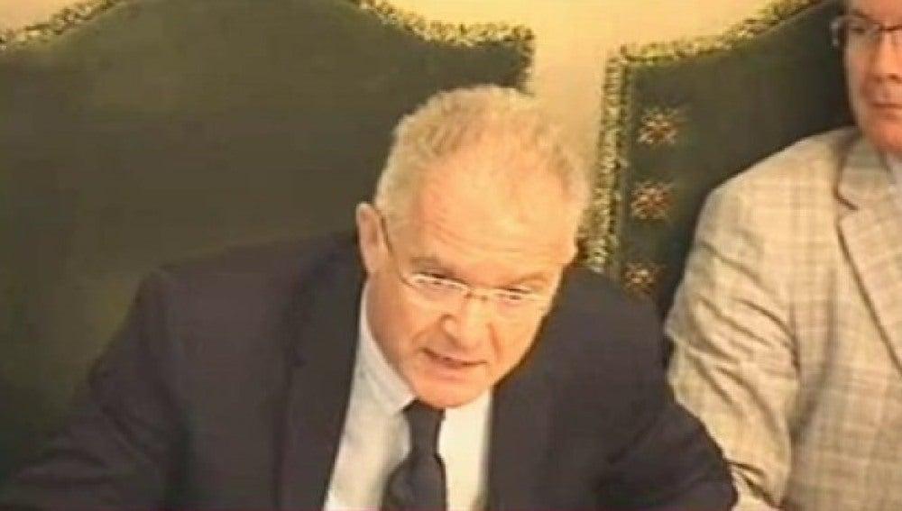 Juan José Echevarría, concejal de UPN en el Ayuntamiento de Pamplona