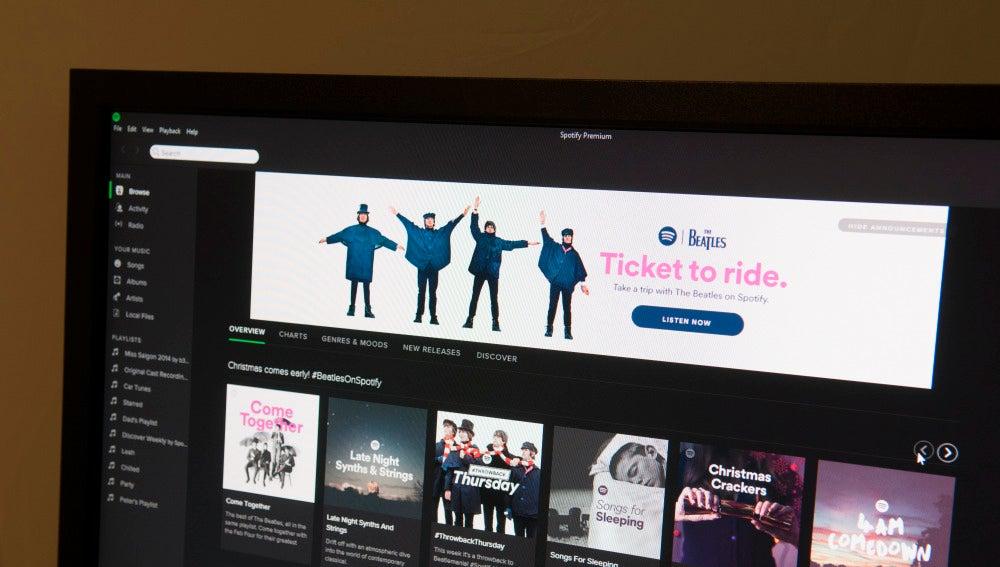 La app de Spotify