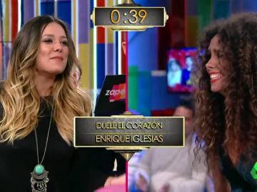 Lorena Gómez y Cristina Pedroche, en Zapeando