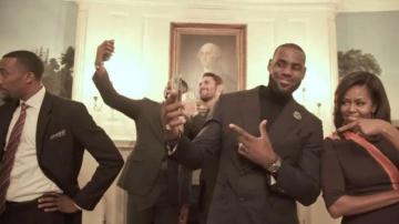 El 'Mannequin Challenge' de los Cavs en la Casa Blanca
