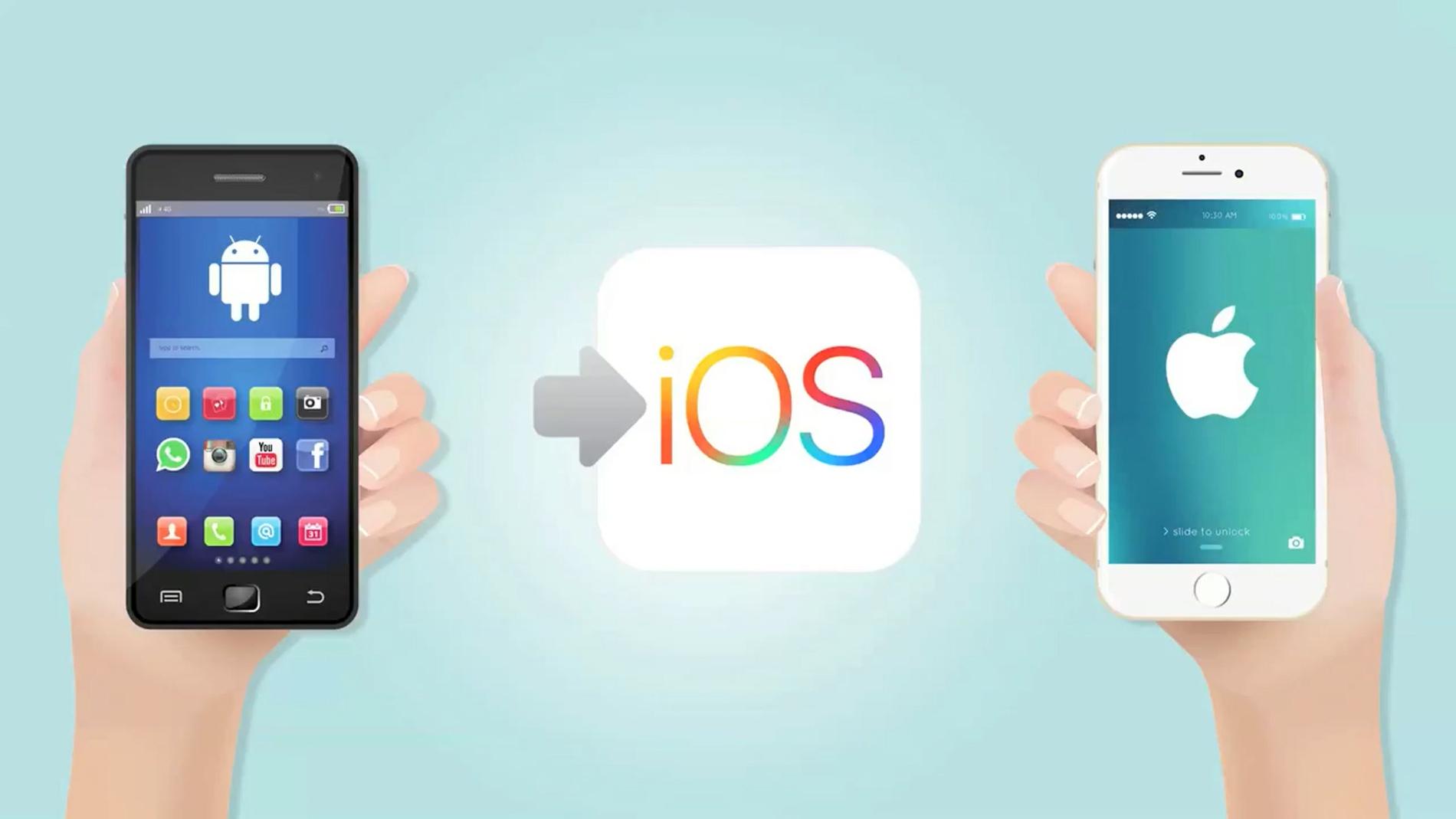 Cambiar de Android a iOS