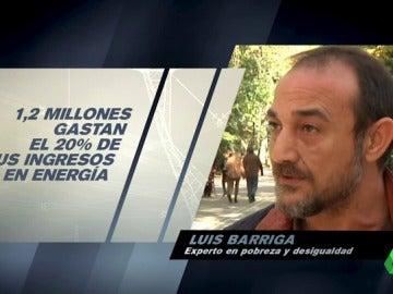 """Frame 43.780713 de: Luis Barriga, experto en desigualdad: """"La pobreza energética es un subtipo de pobreza y la pobreza mata"""""""