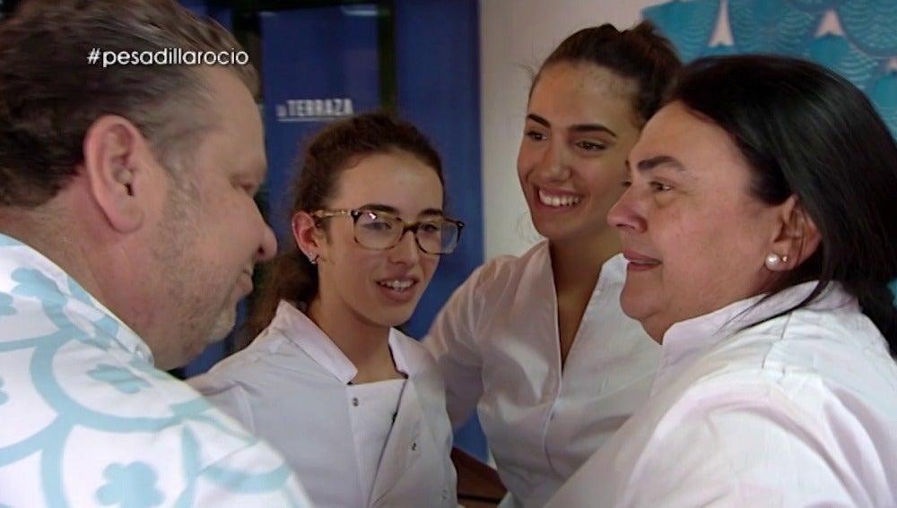 María Convierte El Servicio De Terraza Rocío En Un éxito Quizá Sea La Nueva Cocinera