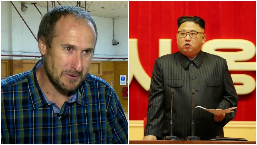 Dávila y Kim Jong-Un
