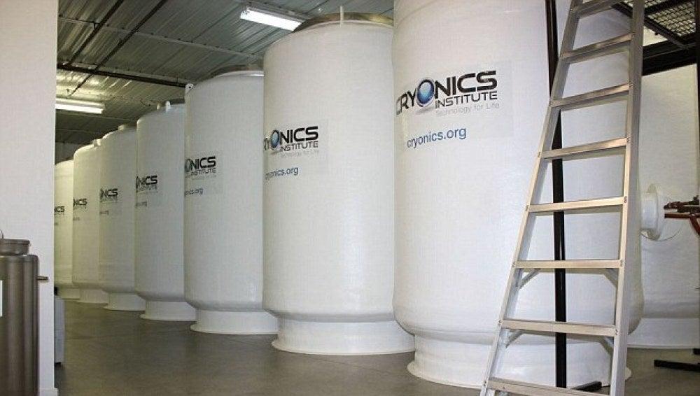 Imagen de un centro de criogenización