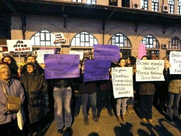 Protestas en Turquía contra la violencia machista