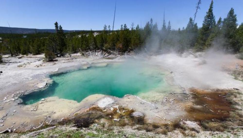 Aguas termales del Parque Yellowstone