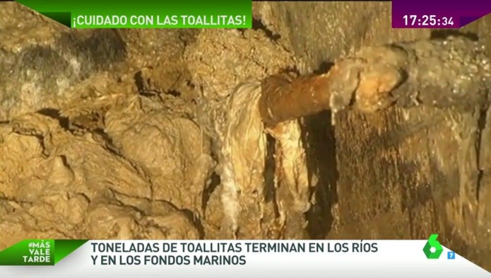 Frame 64.631768 de: Tirar las toallitas al inodoro le cuesta a España 500 millones de euros cada año
