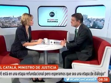 """Frame 0.0 de: Catalá: """"Nací en democracia, me he educado en democracia"""""""
