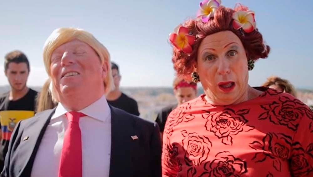 Los Morancos parodian a Donald Trump en el nuevo videoclip