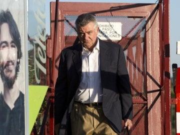 Juan Antonio Roca sale de prisión en un permiso