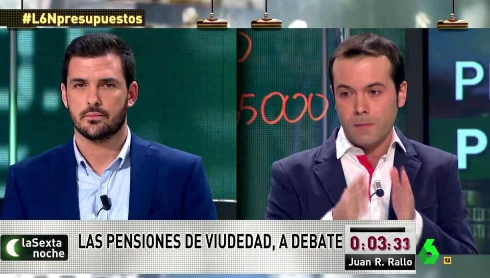 Juan Ramón Rallo y Eduardo Garzón