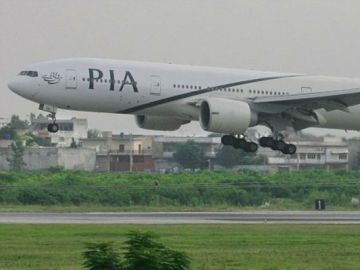 Un avión de Pakistan International Airlines