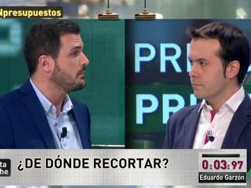 Eduardo Garzón y Juan Ramón Rallo