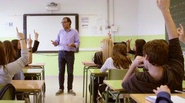 Captura colegio Salvados 'De hijos a padres'