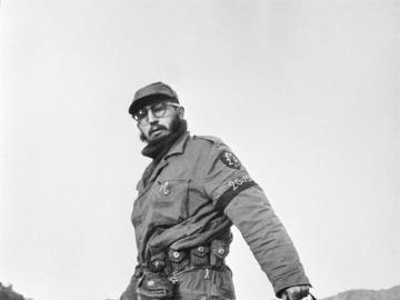 Una imagen de Fidel Castro en 1958