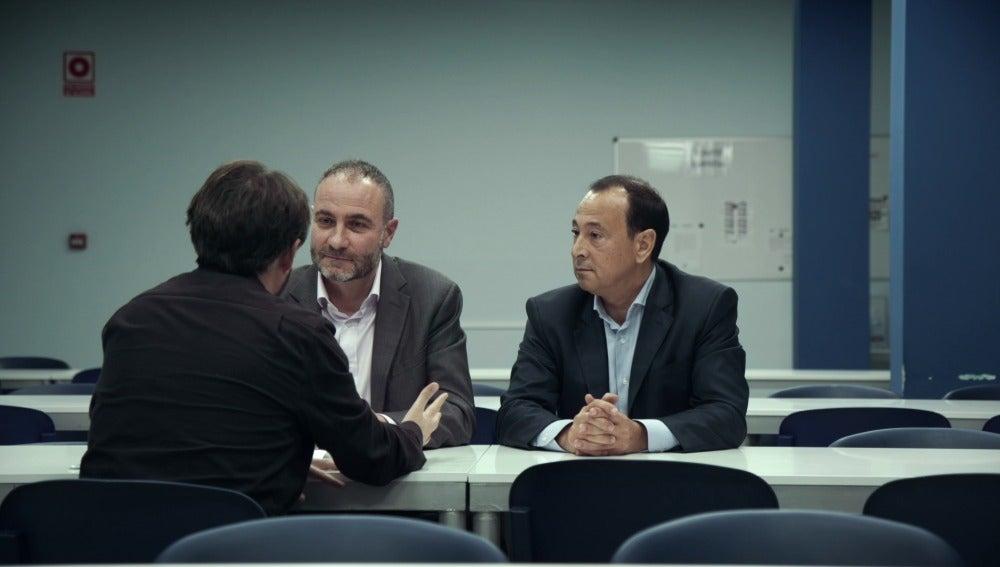 Agustín Catalá,director de compras de Mercadona, y Toni Martínez, director de comunicación