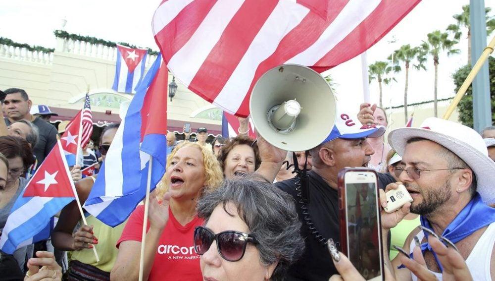 Celebraciones en La Habana por la muerte de Castro
