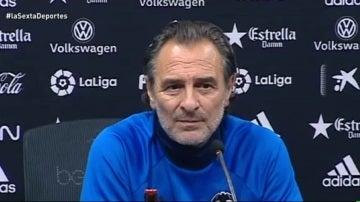 Prandelli, entrenador del Valencia CF