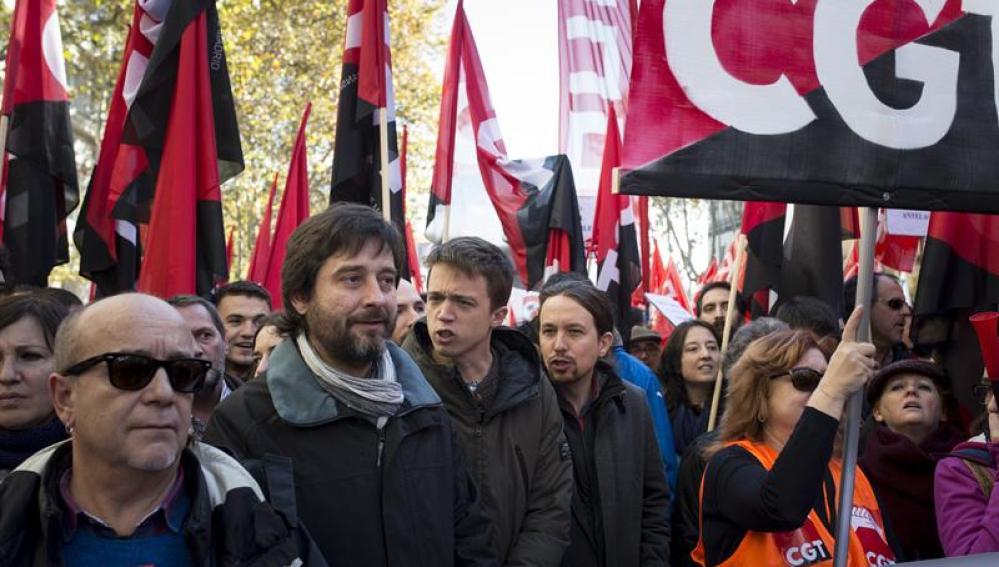 Huelga de teleoperadores en Madrid