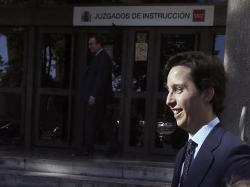 Francisco Nicolás llegando al juzgado