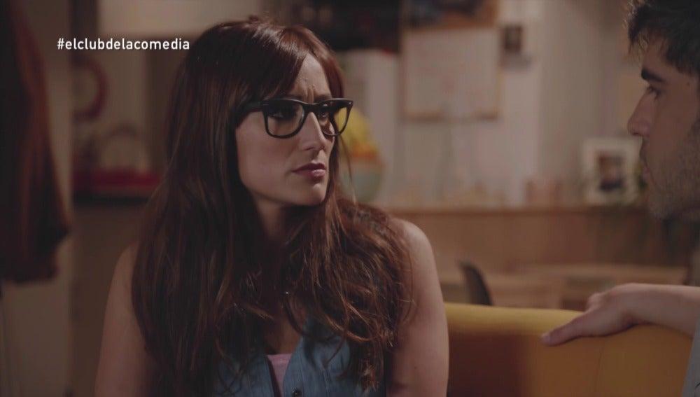 Ana Morgade y Ernesto Sevilla en El Club de la Comedia