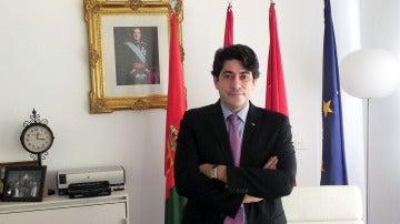 David Pérez, alcalde de Alcorcón