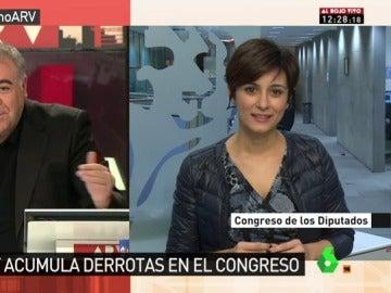 """Frame 19.029859 de: Isabel Rodríguez: """"El Gobierno quiere sustituir el rodillo que utilizó durante la mayoría absoluta por los vetos"""""""