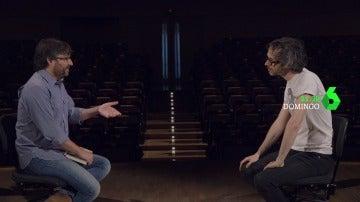 Jordi Évole y James Rhoden en Salvados