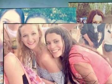 Frame del vídeo de los amigos de Diana Quer