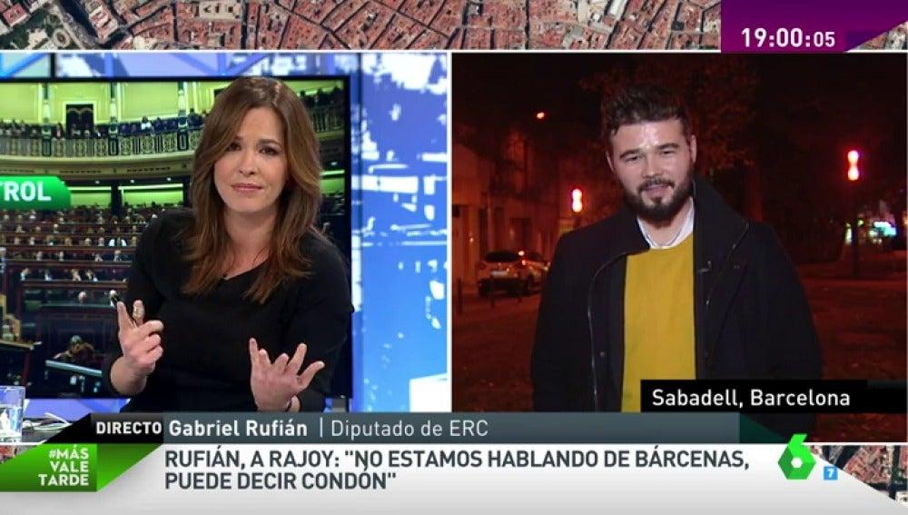 """Frame 11.693964 de:  Gabriel Rufián: """"Es de puro sentido de decencia que haya bienes de consumo que tengan un IVA superreducido"""""""