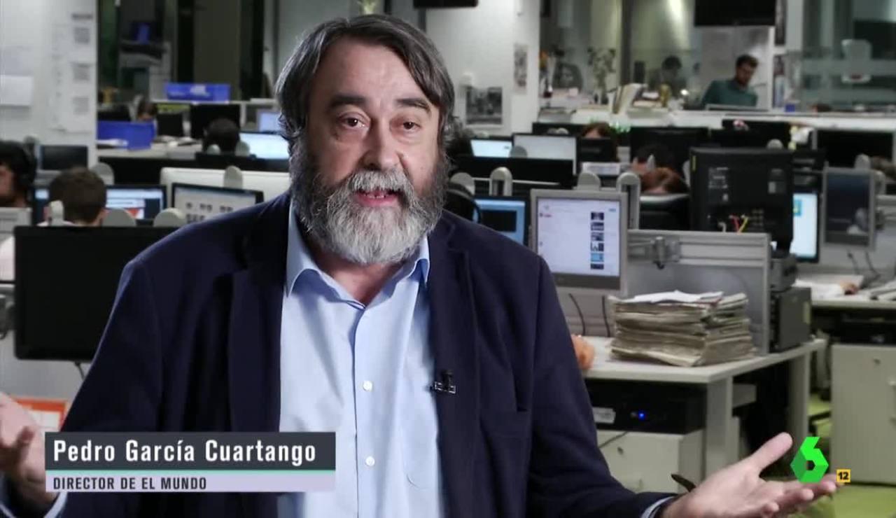 El director de 'El Mundo', Pedro García Cuartango