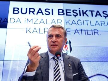 El presidente del Besiktas