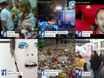 Los asuntos que más han interesado a los españoles en Facebook